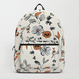 Floral pattern Flowers Backpack