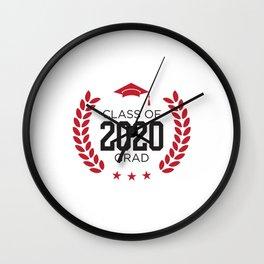 Class of 2020 Senior Graduation Design Wall Clock