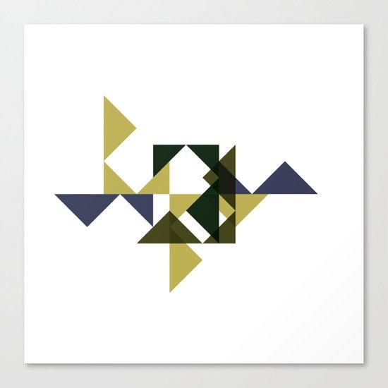 #228 Citadel – Geometry Daily Canvas Print