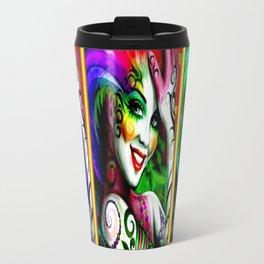 Chapel Tattoo Psychedelic Abstract Print Travel Mug