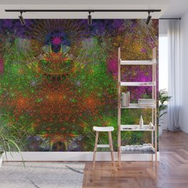 Unleashing Iridescent Thoughts Wall Mural
