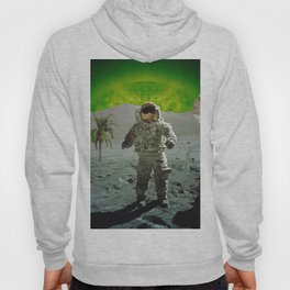 palm tree moonman Hoody