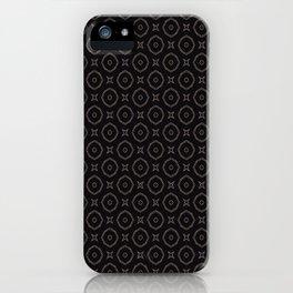 Monochrome madness iPhone Case