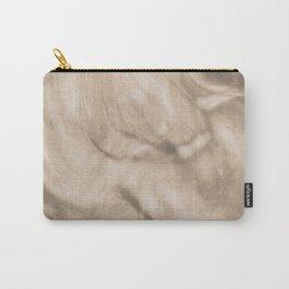 Pantone Hazelnut Flowing Pearlescent Haze, Opalescent Fluid Art Carry-All Pouch