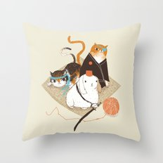 samurai's Throw Pillow