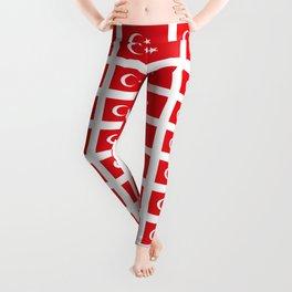 flag of turkey -turkey,Turkish,Türkiye,Turks,Kurds,ottoman,istanbul,constantinople. Leggings