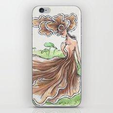 Empire of Mushrooms: Schizophyllum commune iPhone & iPod Skin