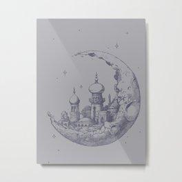 An Arabian Crescent Metal Print