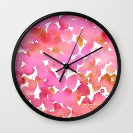 Color Jewels No. 7 Wall Clock