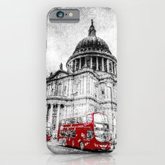 St Paul's Cathedral London Snow iPhone 6s Slim Case