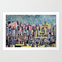 """metropolis Art Print"