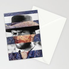 Van Gogh's Self Portrait & Clint Eastwood Stationery Cards