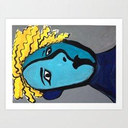 BlueBoy Art Print
