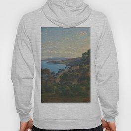 Dandenong Ranges from Beleura by Eu von Guerard Date 1870  Romanticism  Landscape Hoody