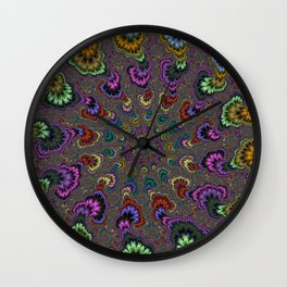 Fractal Abstract 41 Wall Clock