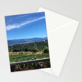 Winery Landscape Stationery Cards