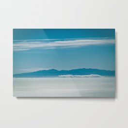 Somewhere Over the Clouds Metal Print