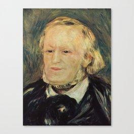 Richard Wagner (1813 – 1883) by Auguste Renoir (1841 - 1919) in 1882 Canvas Print