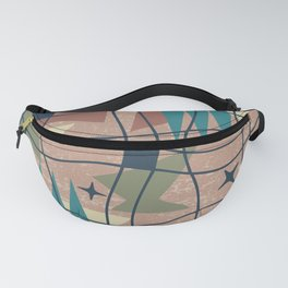 Mid Century Modern Abstract Pattern 763 Fanny Pack
