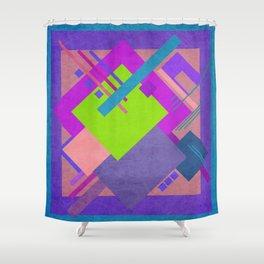 Geometric illustration 13 Shower Curtain