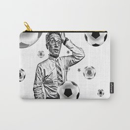 Obsessed Soccer Fan Carry-All Pouch