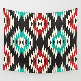 American Native Pattern No. 138 Wall Tapestry