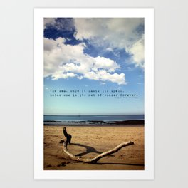 The Sea Casts its Spell Art Print