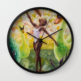 Fitting In Wall Clock