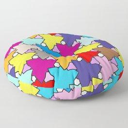 Spring Colors Geometric Floor Pillow