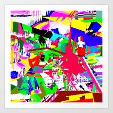 RGB XYZ Art Print
