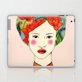lotus girl Laptop & iPad Skin