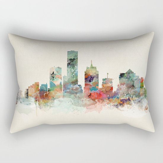 milwaukee wisconsin  Rectangular Pillow