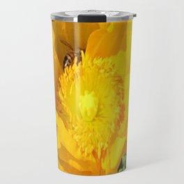 Poppy Bee Travel Mug