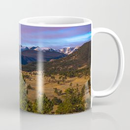 Rocky Mountain High - Moonlight Drenches Colorado Landscape Coffee Mug