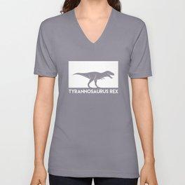 Tyrannosaurus Rex Dinosaur Unisex V-Neck