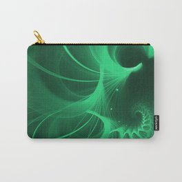 Green Spiral Carry-All Pouch