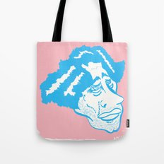 Scruff in Blue Tote Bag
