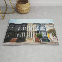 Colorful homes Rug