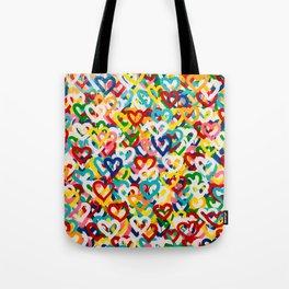 Love Rains Tote Bag