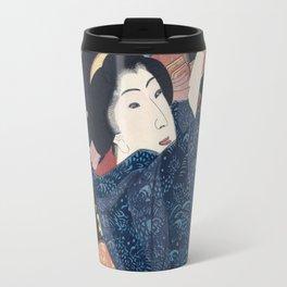 Ukiyo-e Japanese Print Travel Mug