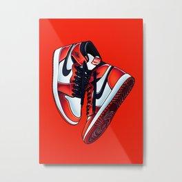 Air Jordan 1  Poster Metal Print