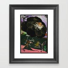 Baby I'm so high. Framed Art Print