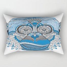 Tribal Monkey Rectangular Pillow