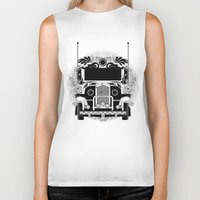 jeep Biker Tanks featuring jeep ni erap by cocoyponce
