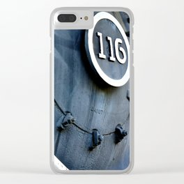 No. 116 Series 1 Clear iPhone Case