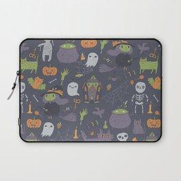 Cute Happy Halloween Laptop Sleeve