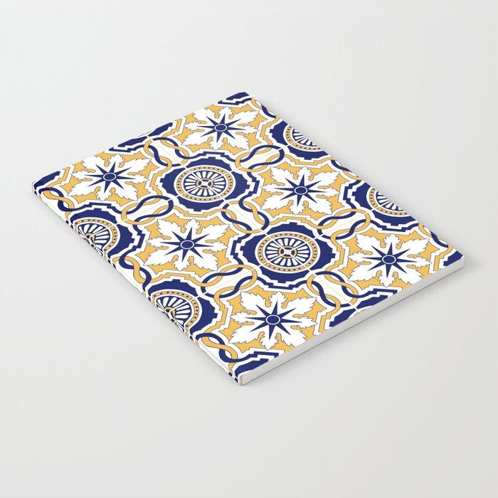 Portuguese Tiles Notebook