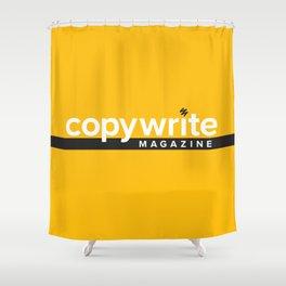 CopyWrite Magazine Shower Curtain