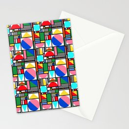 Bauhaus Village Stationery Cards