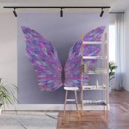 Purple Angel Wings Wall Mural